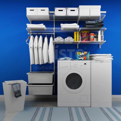 Гардеробные системы для ванной и прачечной