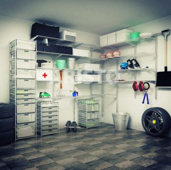 гардеробные системы для гаража